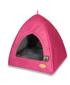 لانه سه گوش، مناسب سگ و گربه های کوچک، برند نیناپت، صورتی