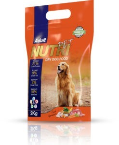 NutriPet Dry Dog Food Adult 2 kg