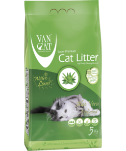 VanCat Ultraclupming Cat Litter Aloe Vera 1