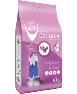 VanCat Ultraclupming Cat Litter Baby Powder1