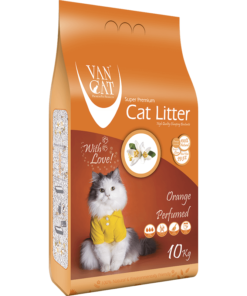 VanCat Ultraclupming Cat Litter Orange 1