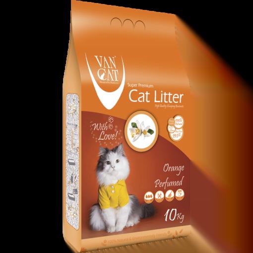 VanCat Ultraclupming Cat Litter Orange 1