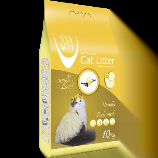 خاک گربه ون کت، اُلترا کلامپینگ، با رایحه وانیل، ۱۰ کیلوگرمی