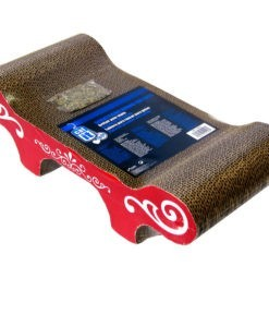 HAGEN Catit Style Patterned Cat Scratcher with Catnip Urban Bench