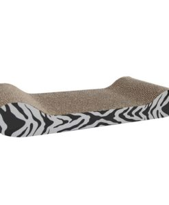 HAGEN Catit Style Patterned Cat Scratcher with catnip White Tiger Lounge