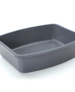 Savic CAT LITTER TRAY OVAL gray