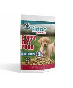 غذای خشک توله سگ نژاد بزرگ، ۲ کیلوگرمی، برند فیدار پاتیرا