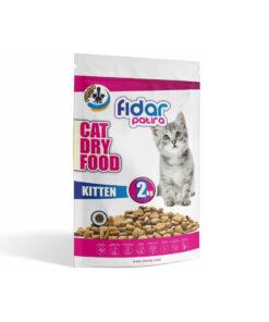 غذای خشک بچه گربه، 2 کیلوگرمی، فیدار پاتیرا