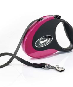 Flexi Collection M Tape 5 m Pink-Black 1