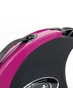 Flexi Collection M Tape 5 m Pink-Black 2