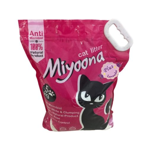 SinaVet Miyoona Cat Litter Plus Lavender
