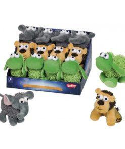 عروسک، در ۳ طرح شیر، گوسفند و فیل، مخصوص سگ، برند نوبی