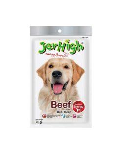 تشویقی با گوشت گوساله، مخصوص سگ، 70 گرمی، برند جرهای
