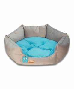 SinaVet NinaPet HexaGonal Bed jsh1 gray cyan