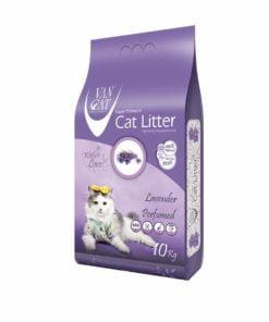 خاک گربه با خاصیت اُلترا کلامپینگ، با رایحه لوندر، برند وَن کت، ۱۰ کیلوگرمی