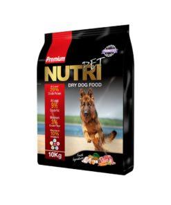 غذای خشک سگ با ٪۲۹ پروتئین، 10 کیلوگرمی، برند نوتری پت