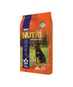 غذای خشک سگ بالغ با ٪۲۱ پروتئین، برند نوتری پت، 10 کیلوگرمی