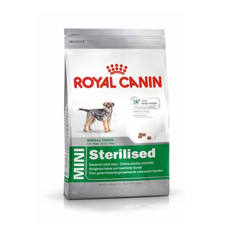 غذای خشک سگ عقیم شده نژاد کوچک رویال کنین 2 کیلوگرمی