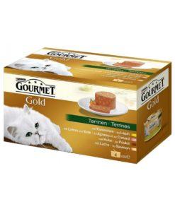 Sinavet Gourmet Gold Fine Mousse Green Line 485g