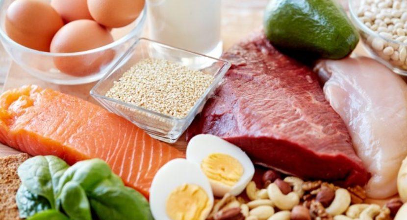 غذاهای با پروتئین بالا