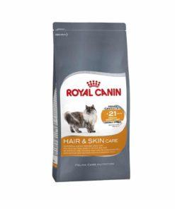 غذای خشک گربه بالغ، با پوست و مو حساس، ۲ کیلوگرمی، برند رویال کنین