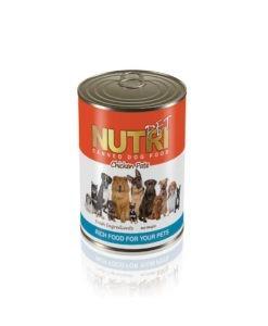 Sinavet Nutripet dog canned food pate 425g