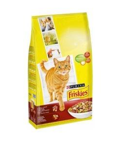 SinaVet Friskies Cat Dry Food Adult Beef and Chicken 1.7kg