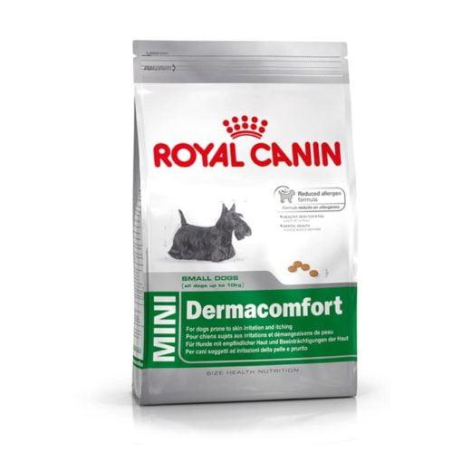SinaVet Royal Canin Dog Dry Food Mini Dermacomfort 2 kg