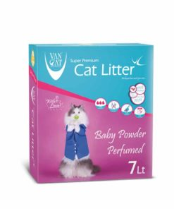 Sinavet VanCat Ultraclupming Cat Litter Baby Powder 7 L VNYD048
