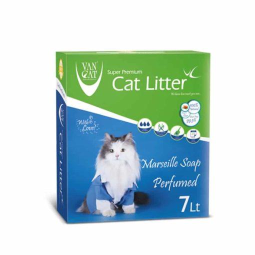 Sinavet VanCat Ultraclupming Cat Litter Marseille Soap 7 L VNYD049