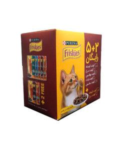 sinavet pouch cat friskies adult 5+2