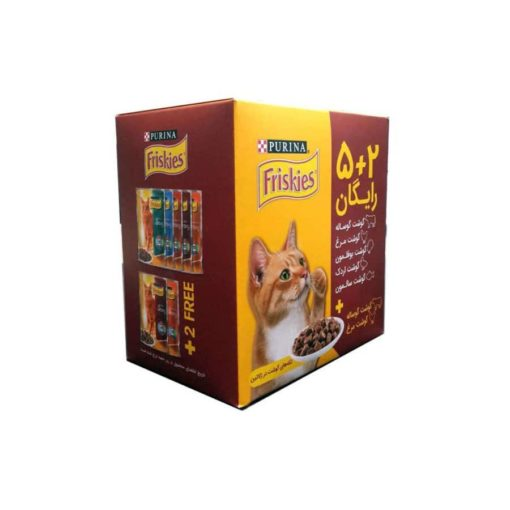 sinavet pouch cat friskies adult 5+2