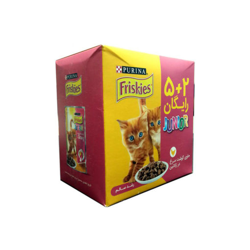 sinavet pouch cat friskies junior 5+2