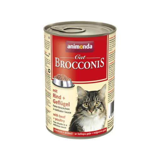 Sinavet Animonda Brocconis Cat Wet Food Beef and Poultry 400 g