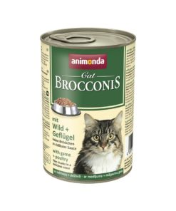 Sinavet Animonda Brocconis Cat Wet Food Game and Poultry 400 g