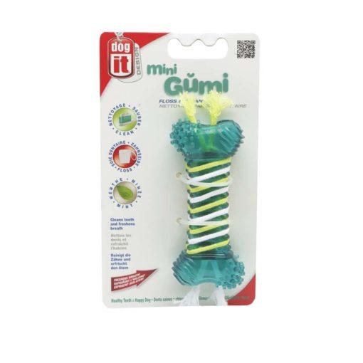 اسباب بازی جویدنی، تمیز کننده دندان، سایز کوچک، مدل مینی گامی، برند هگن، floss & clean