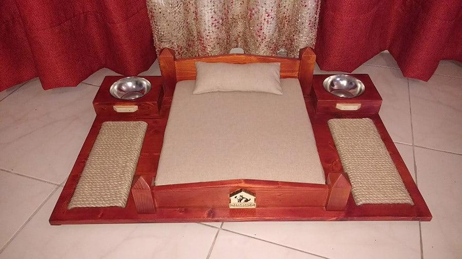 تخت خواب و اسکرچر گربه، خانه لوکس حیوانات 3