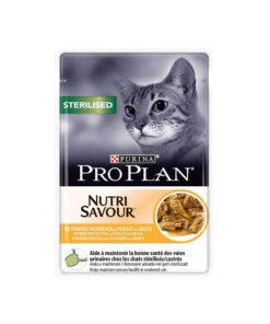 پوچ ژلاتینی، مخصوص گربه عقیم شده، حاوی مرغ، ۸۵ گرمی، برند پروپلن