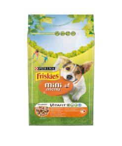 غذای خشک سگ بالغ نژاد کوچک، مدل مینی منو، 2 کیلوگرمی، برند فریسکیز