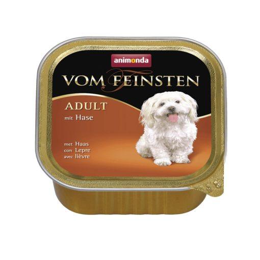غذای کاسه ای مخصوص سگ بالغ، حاوی گوشت خرگوش، 150 گرمی، برند ووم فیستن