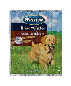 تشویقی مدادی، مخصوص سگ، گوشت گاو و مرغ، 4 قطعه 11 گرمی، برند وینستون