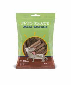 تشویقی دندانی، مخصوص سگ بالغ و توله، 140 گرمی، برند Pets Taste