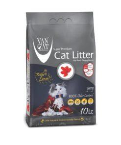 خاک گربه ون کت اولتراکلامپینگ حاوی کربن فعال، آنتی باکتریال، 10 لیتری