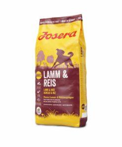 غذای خشک مخصوص سگ بالغ همه نژادها، 900 گرمی، حاوی گوشت بره و برنج، برند جوسرا
