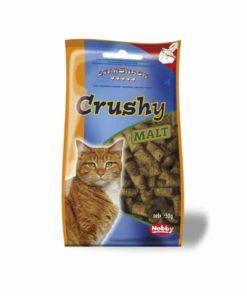 تشویقی کرانچی مغزدار، مخصوص گربه، حاوی مالت، 50 گرمی، برند نوبی