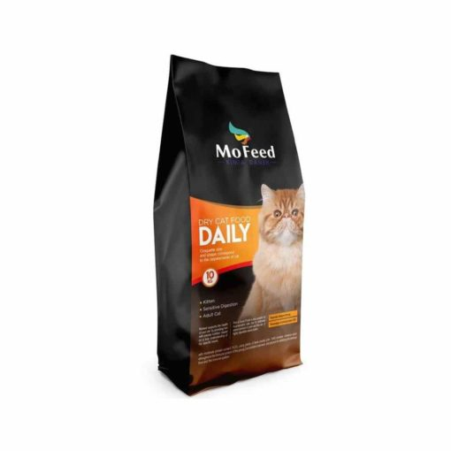 غذای خشک گربه بالغ، 10 کیلوگرمی، برند مفید