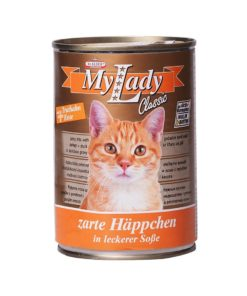 کنسرو مخصوص گربه، حاوی گوشت بوقلمون و اردک، 415 گرمی، برند دکتر آلدرز