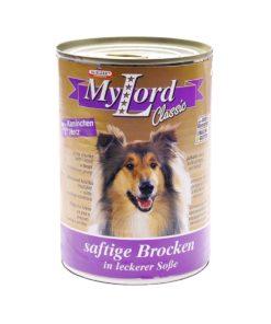 کنسرو مخصوص سگ، حاوی گوشت خرگوش و دل، 415 گرمی، برند دکتر آلدرز