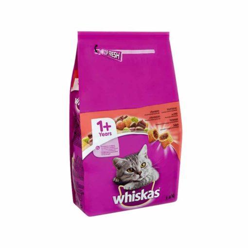 غذای خشک گربه بالغ، حاوی گوشت گوساله، 1.4 کیلوگرمی، برند ویسکاس