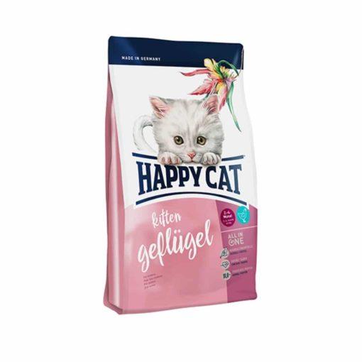 غذای خشک بچه گربه 2 تا 6 ماهگی، 4 کیلوگرمی، برند هپی کت